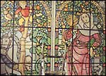 stained glass panel - click to enlarge