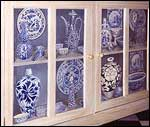Victorian trompe l'oeil cupboard - click to enlarge
